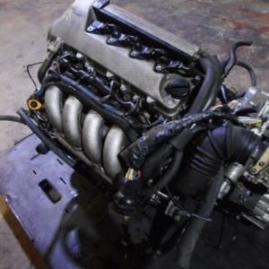 00-05 TOYOTA COROLLA MATRIX 1.8L TWINCAM ENGINE TRANSMISSION LOOM ECU JDM 2ZZ-GE