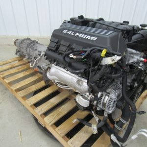 2015 Jeep Grand Cherokee SRT8 6.4L 392 Hemi Engine Dropout w Transmission